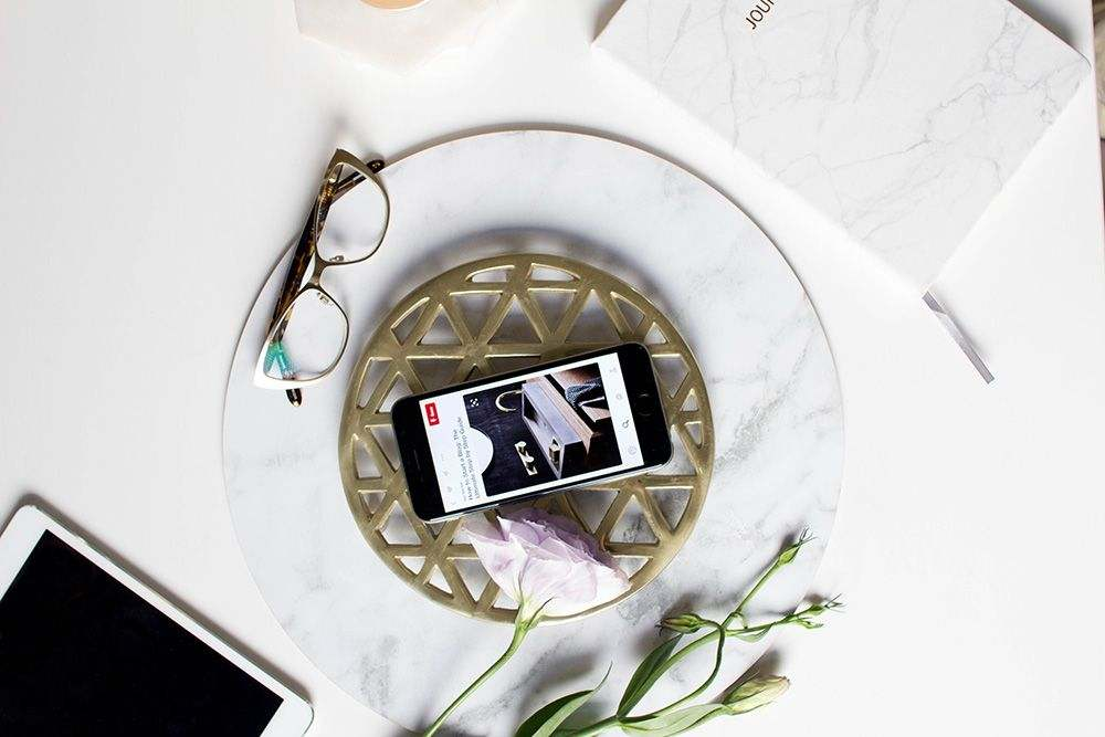 Mastering the flatlay for Instagram